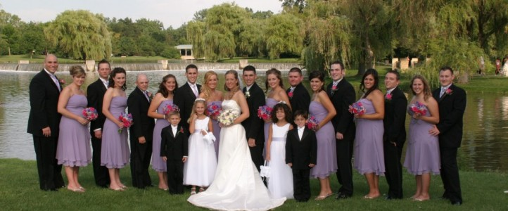 Scenic Locations for wedding photos in South Suburban Chicagoland and Kane County IL